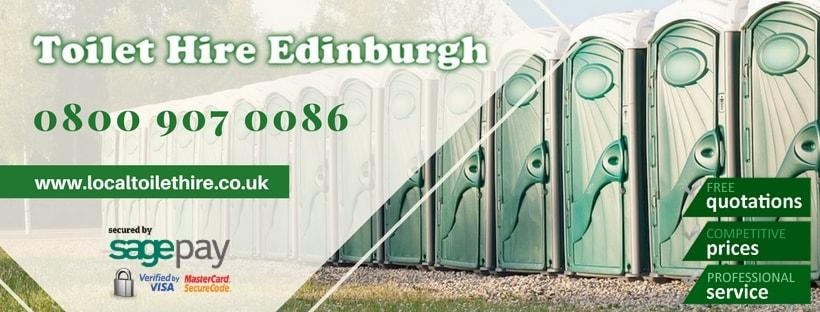 Portable Toilet Hire Edinburgh