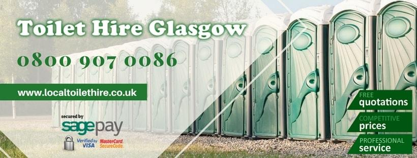 Portable Toilet Hire Glasgow
