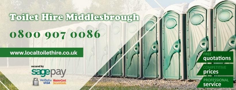 Portable Toilet Hire Middlesbrough