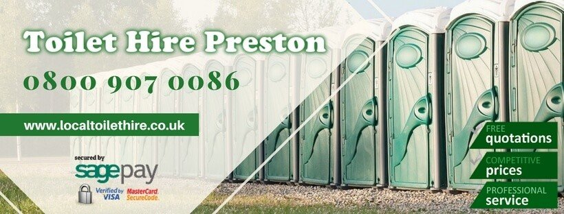 Portable Toilet Hire Preston