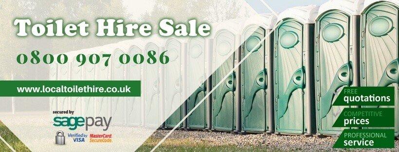 Portable Toilet Hire Sale
