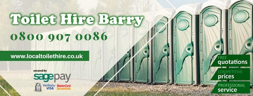 Portable Toilet Hire Barry