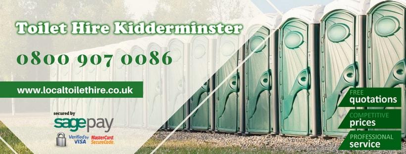 Portable Toilet Hire Kidderminster
