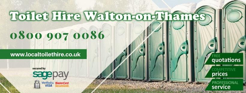 Portable Toilet Hire Walton-on-Thames