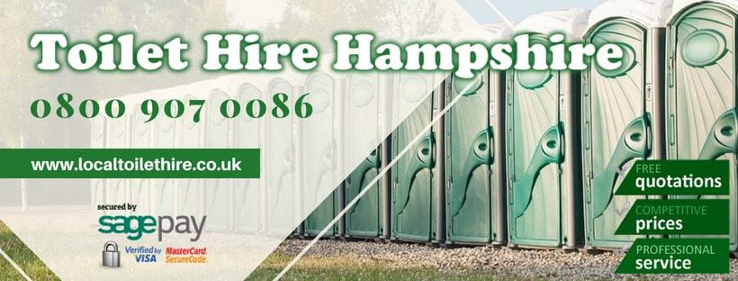 Portable Toilet Hire Hampshire