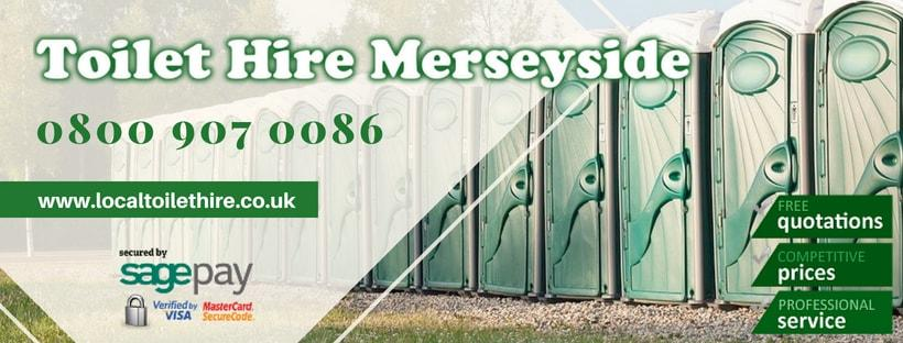 Portable Toilet Hire Merseyside