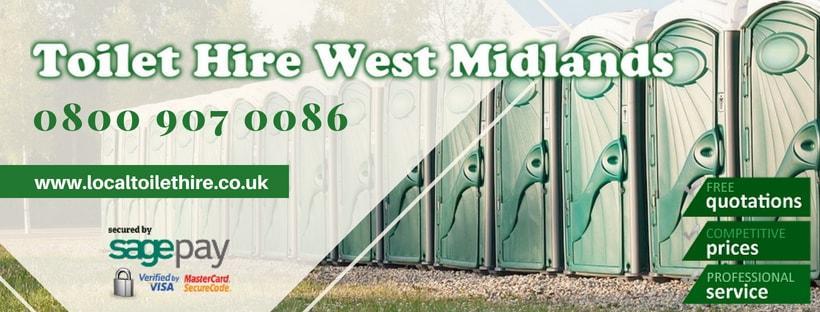 Portable Toilet Hire West Midlands